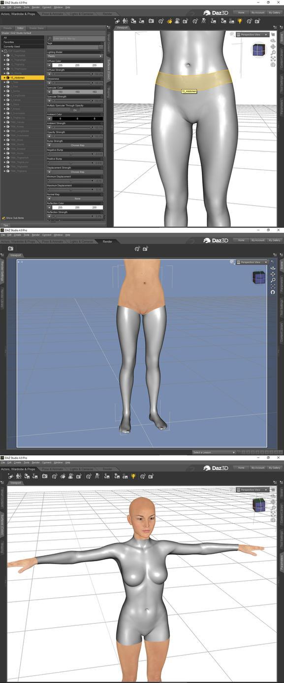 Quick bodysuit tutorial 06 by Nicklaos