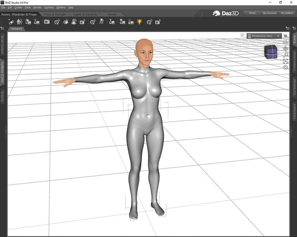 Quick bodysuit tutorial 07 by Nicklaos