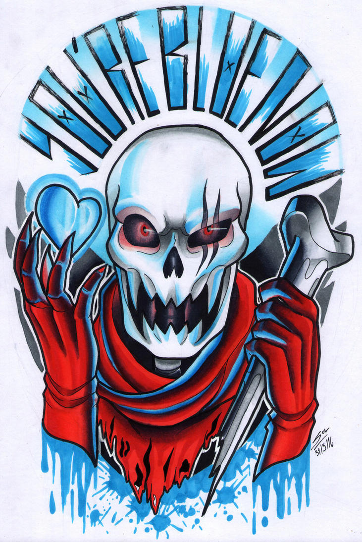 Papyrus Copic by MissSkull