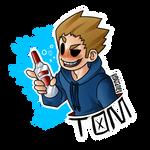 TOM sticker