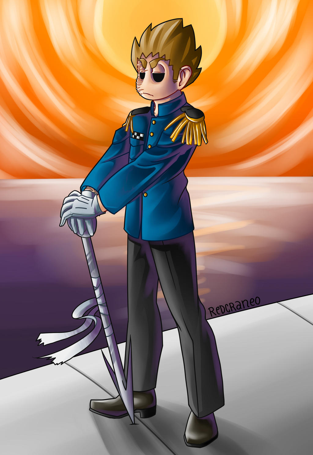 Tom Blue Leader By Missskull On Deviantart