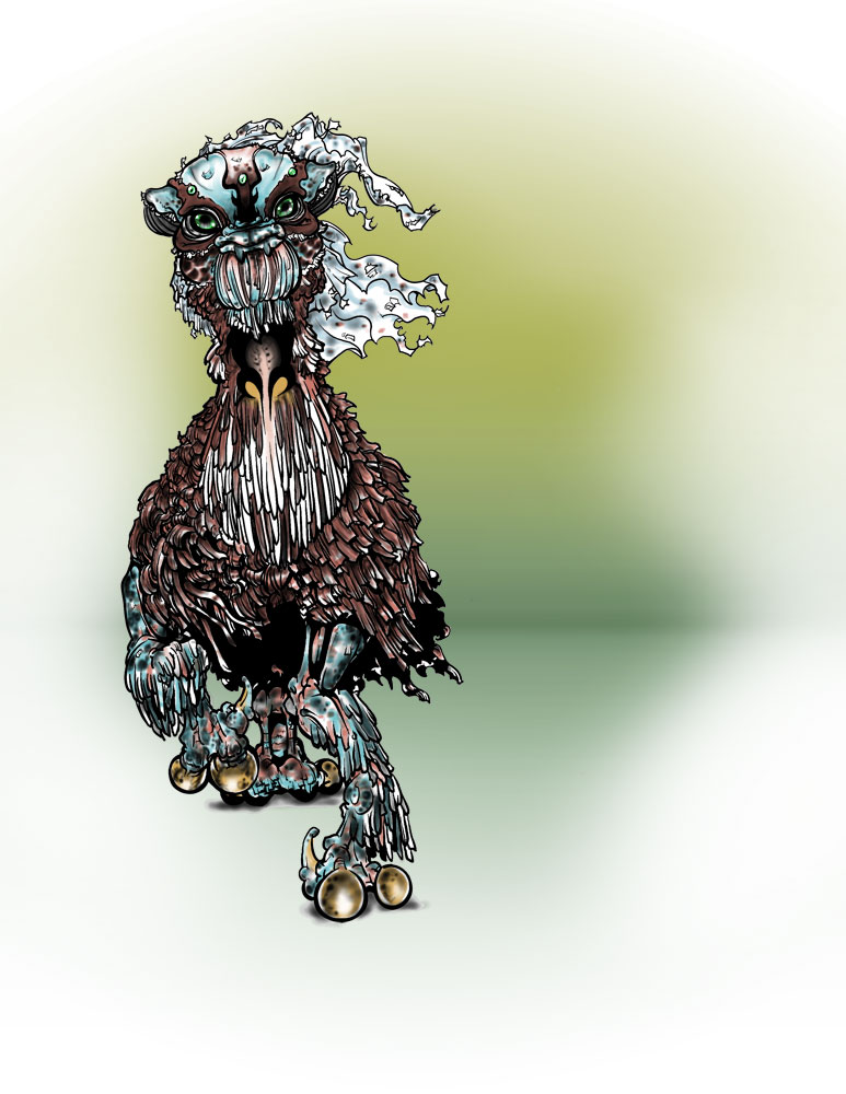 Creature Design by pyromancy
