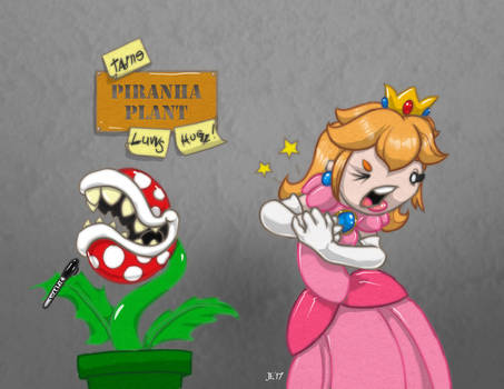 Meanwhile, in the mushroom kingdom...
