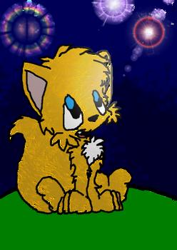 Uma pequena raposa...