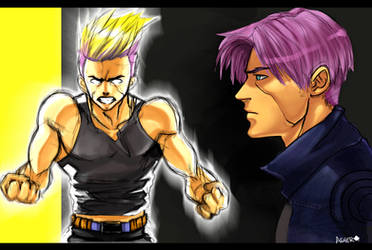 Trunks DBZ by asherluck