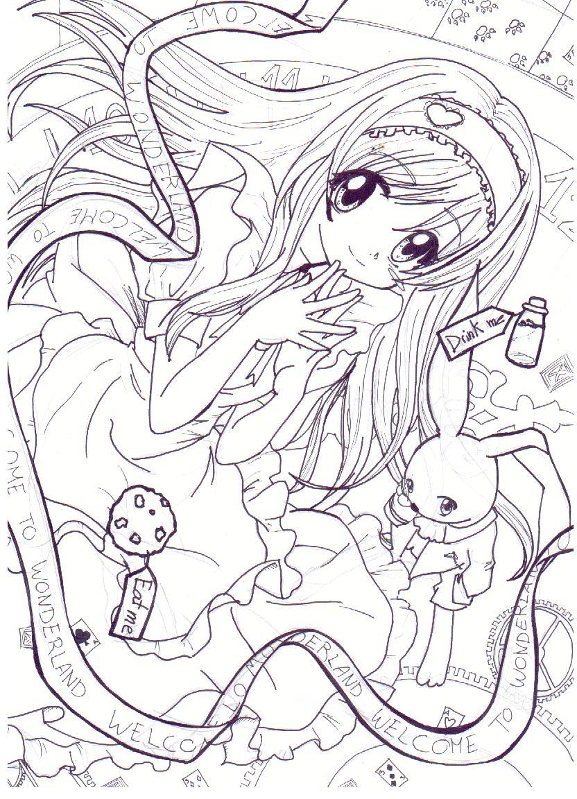 Alicia en el pais de las maravillas by Nit-chan on DeviantArt