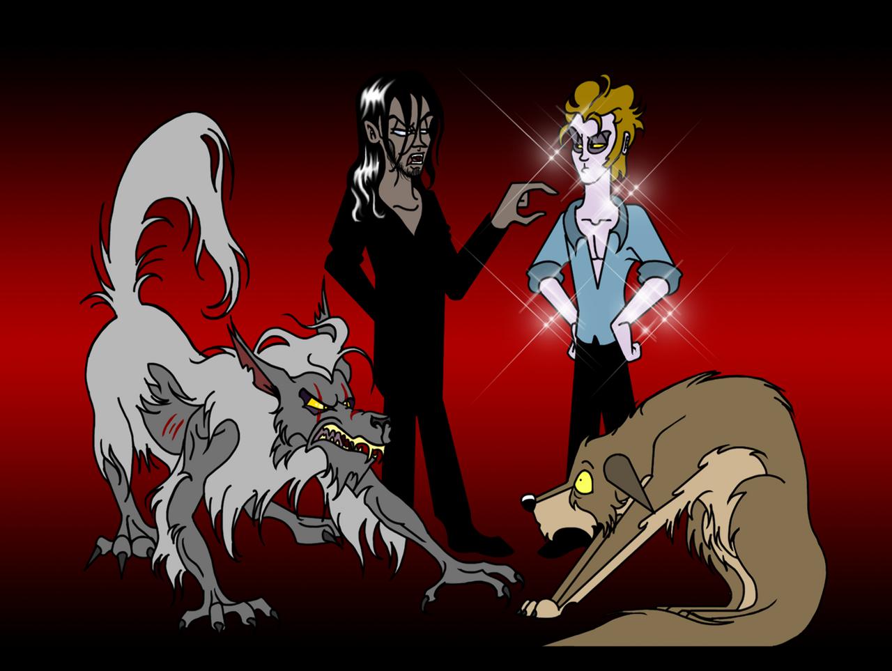 Vampires and Werewolves by unicorn-skydancer08 on DeviantArt
