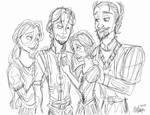 Disney Inktober 20 - Family