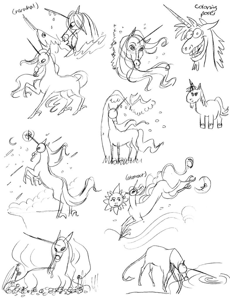 Thumbnail Unicorns by unicorn-skydancer08