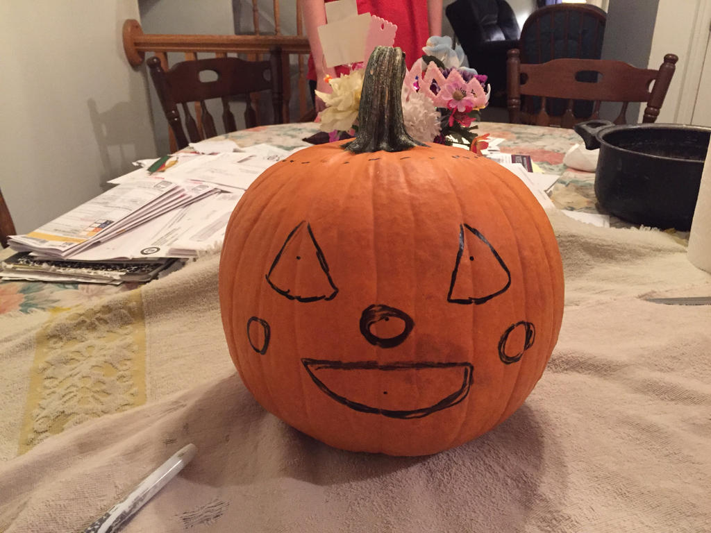 Great Pumpkin by unicorn-skydancer08