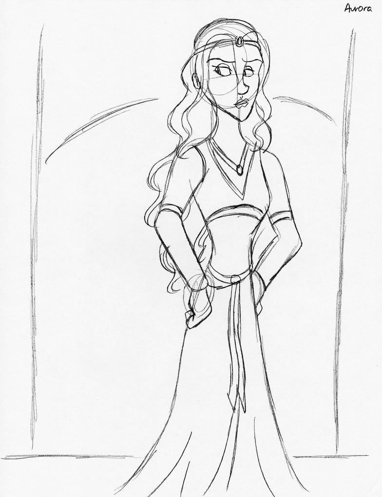 New Character - Aurora by unicorn-skydancer08
