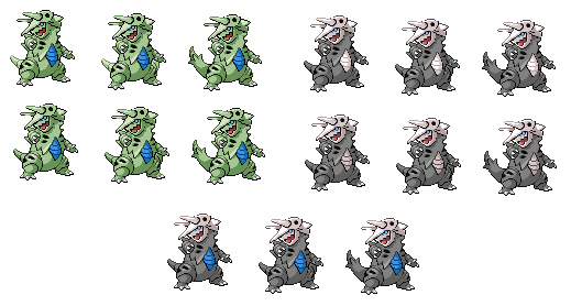Pokemon Fuse Aggron+ Tyranitar by Purtle-Patrick on DeviantArt