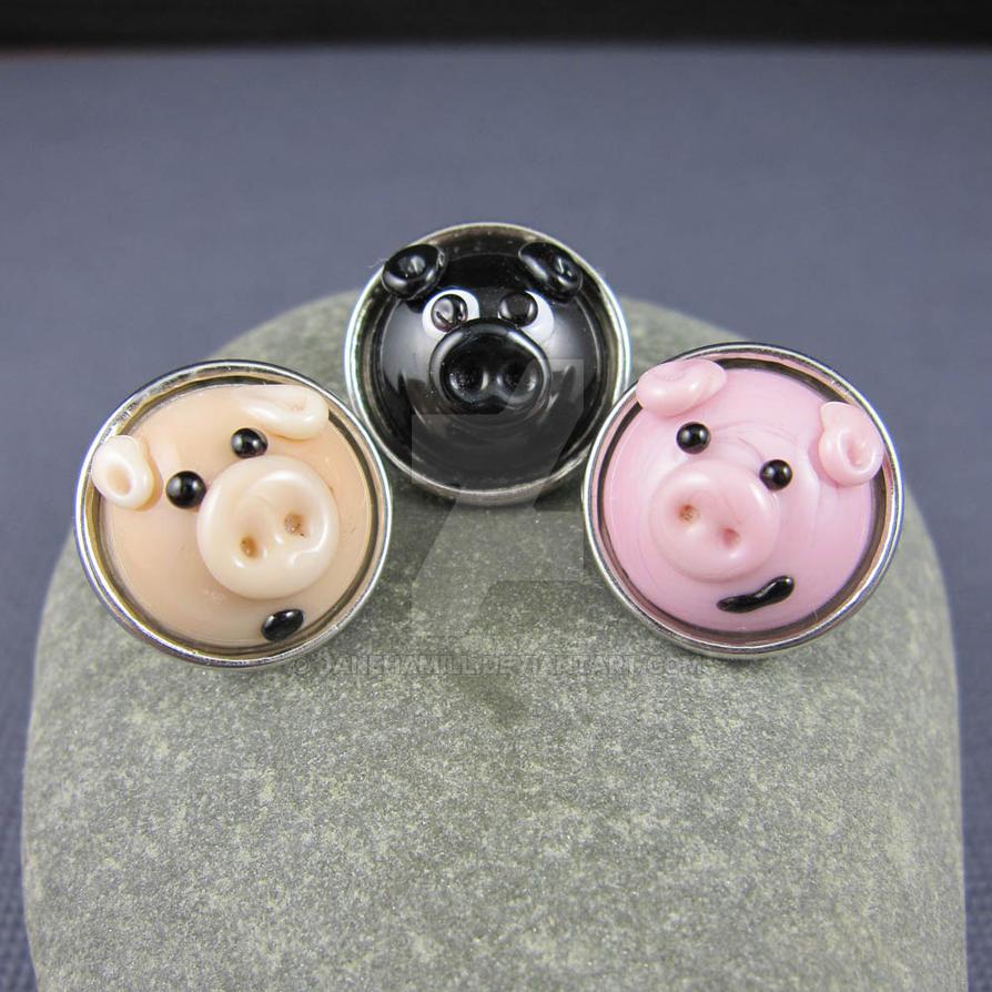 Three Little Piggies by janehamill