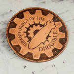 Grand Order of the Dirigible Steampunk Badge