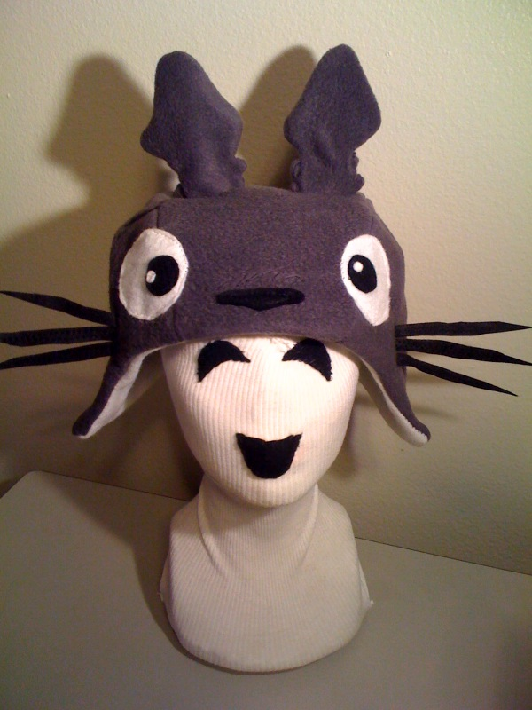 TOTORO Hat by tacksidermia
