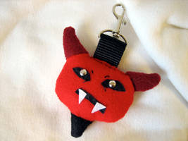 DEVIL Backpack Baddie Clip On by tacksidermia