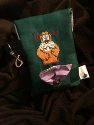 Duck Hunt Doggie Bag Holder by tacksidermia