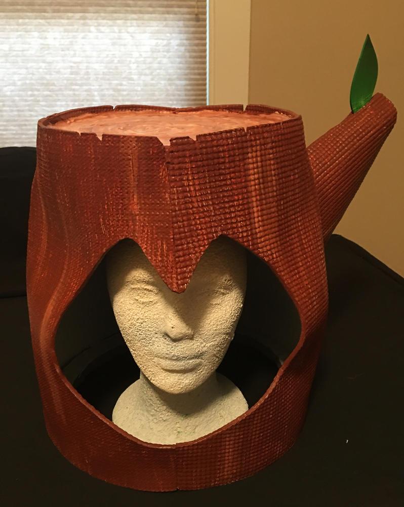 Mega Man 2 Wood Man Helmet by tacksidermia