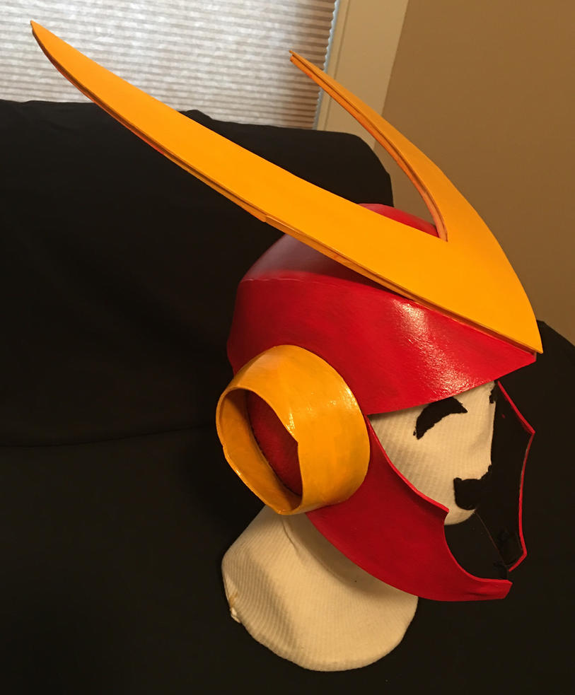 Mega Man 2 Quick Man Helmet by tacksidermia