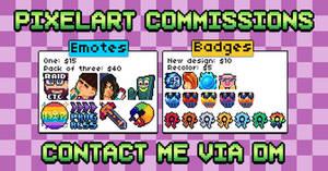PixelArt Commission Prices [OPEN]