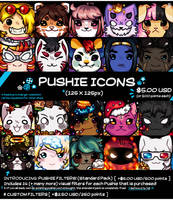 Pushie Icons [CLOSED!] (0/10 SLOTS) by SUSHIROLLED