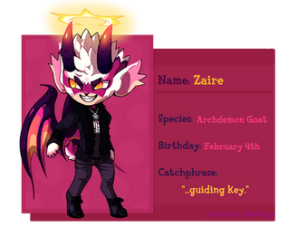 [CC] Zaire by SUSHIROLLED