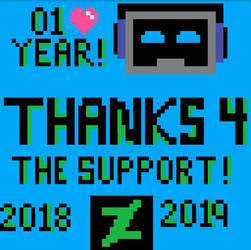 One Year on DeviantArt  by MrFrankSauce