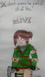 Sarah - From Alive. OC made by EdDraws18 by MrFrankSauce