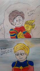 Hi, I'm Peter Parker. - Avengers EndGame. by MrFrankSauce