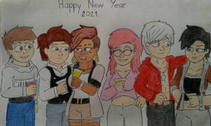 Happy (Late) New Year - Ft Shawn.