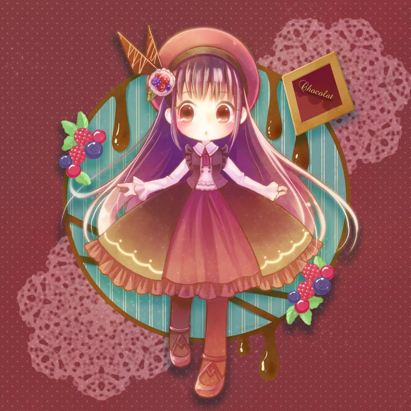 chocolate cake by MizoreAme