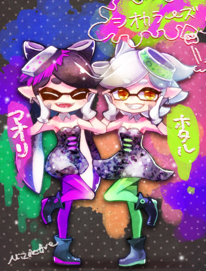 Squid Sisters by MizoreAme
