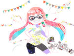 Inkling with maskingtape