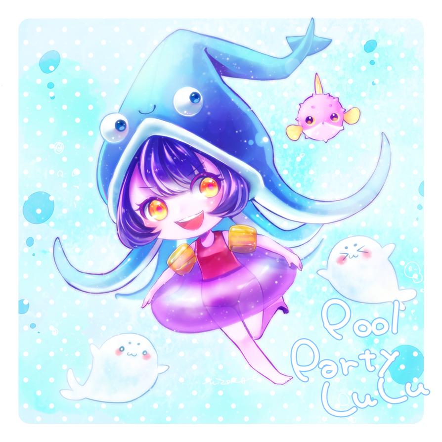 Pool Party Lulu! by MizoreAme