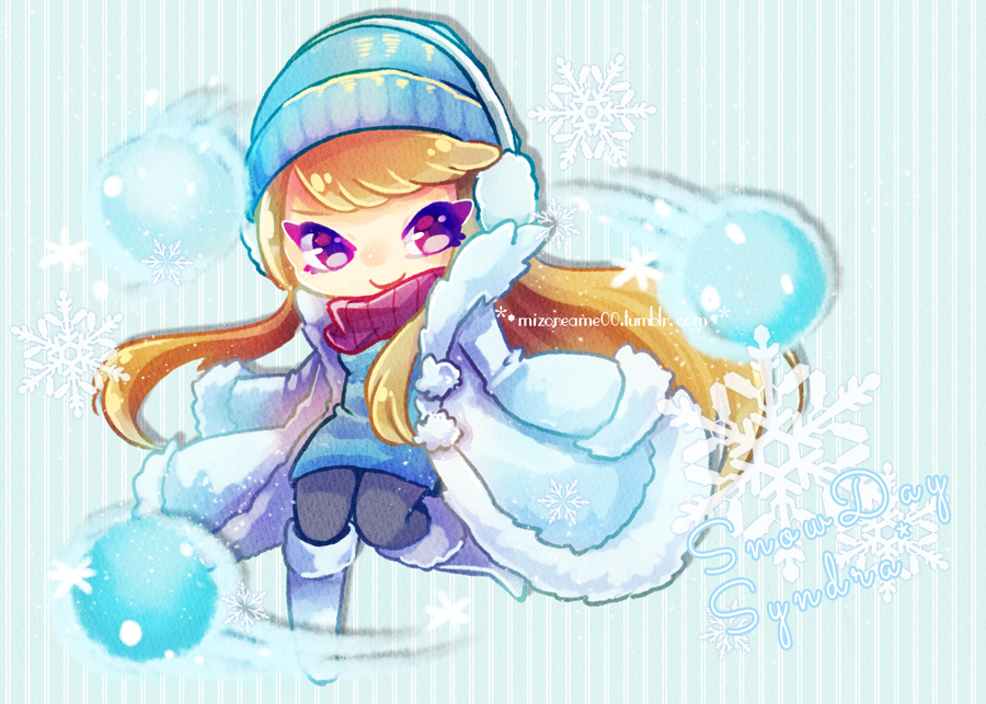 Snow day syndra by MizoreAme