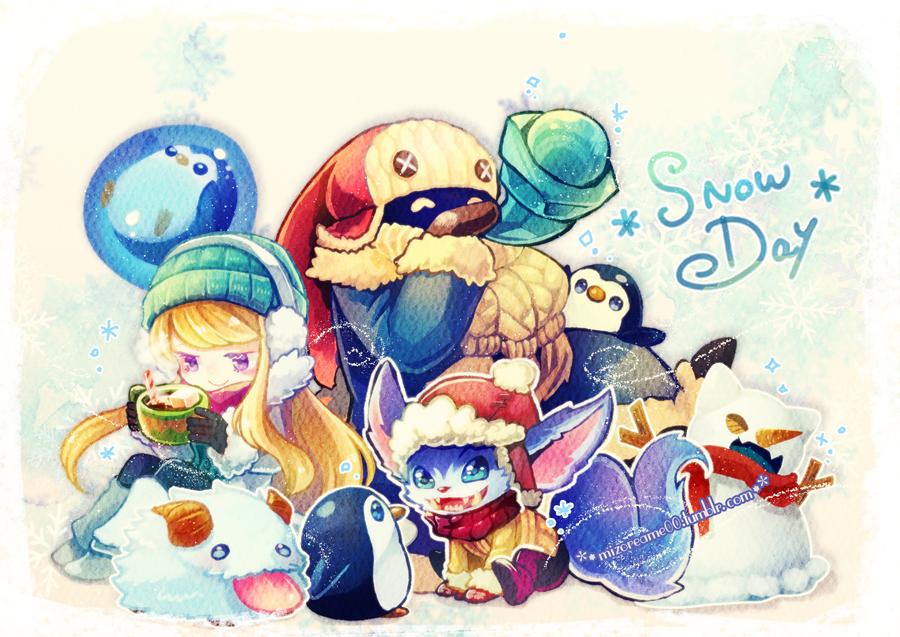 Snowdays skin 2015 by MizoreAme