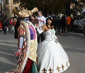 Queen Garnet and Queen Brahne Cosplay