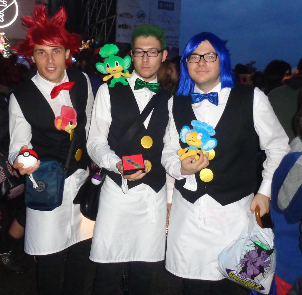 Chili pokemon cosplay