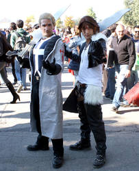 Squall and Seifer Cosplay by Maspez