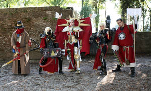 Warhammer 40K Cosplay Group