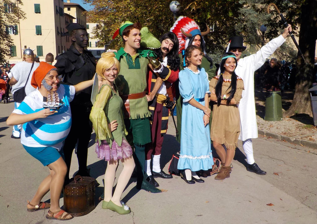 Peter Pan Cosplay Group by Maspez on DeviantArt
