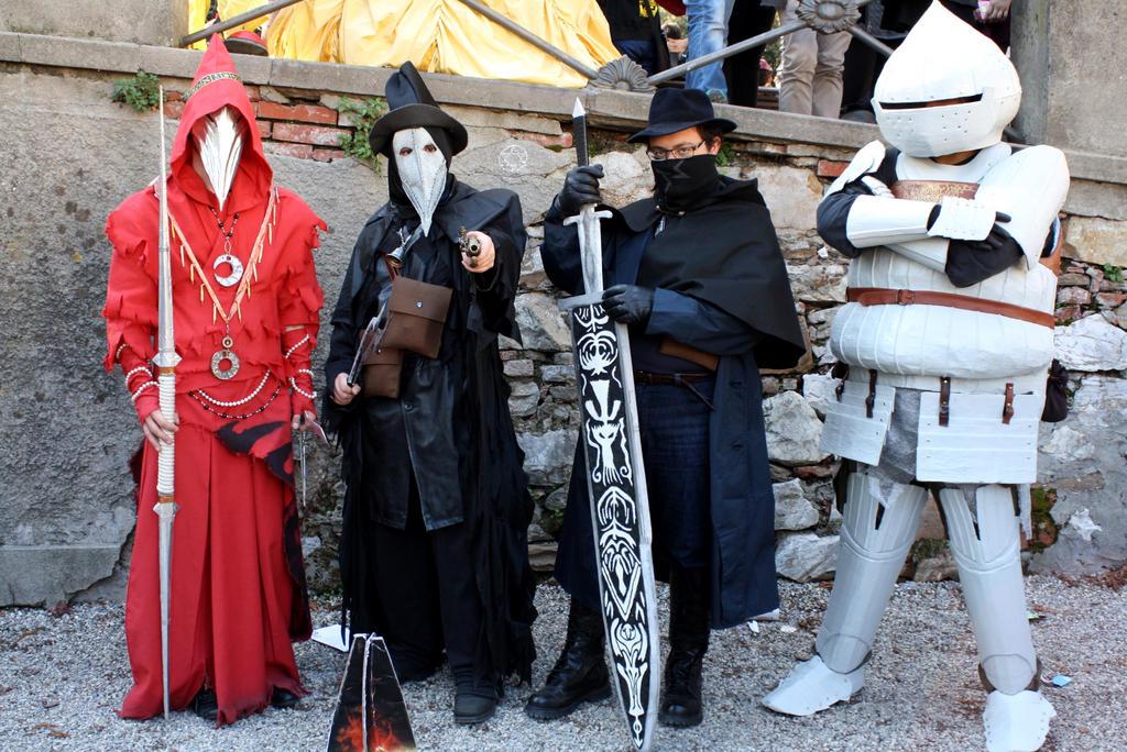 dark souls bloodborne cosplay group by maspez on deviantart
