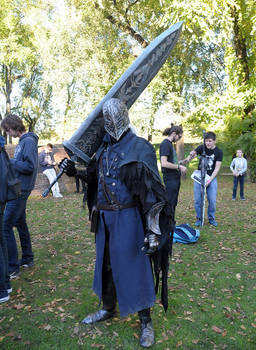Bloodborne Hunter Cosplay by Maspez