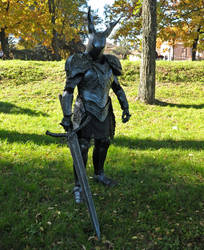 Black Knight - Dark Souls Cosplay by Maspez