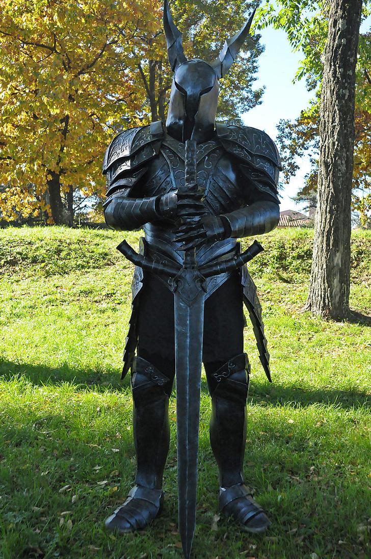black knight dark souls cosplay 2 by maspez on deviantart