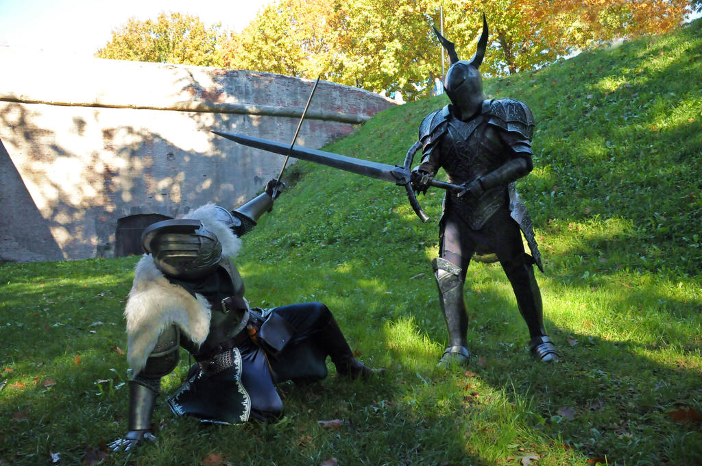 fight dark souls cosplay by maspez on deviantart