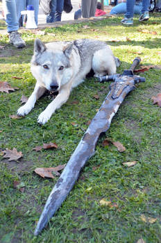 Sif, the Great Grey Wolf Cosplay