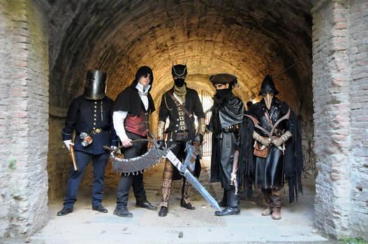 Bloodborne Cosplayers by Maspez