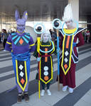 Beerus ,Whis and Vados  Cosplay