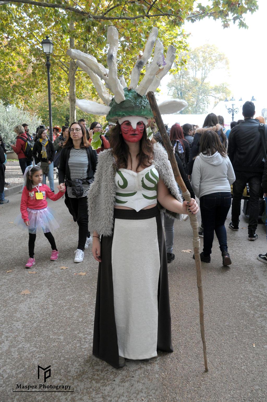 Princess Mononoke Forest Spirit Cosplay By Maspez On Deviantart